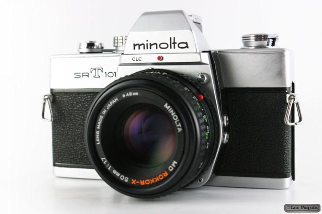 Minolta SRT 101 Mk01