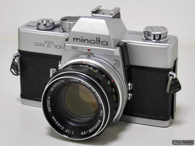 Minolta SRT 101 Mk02