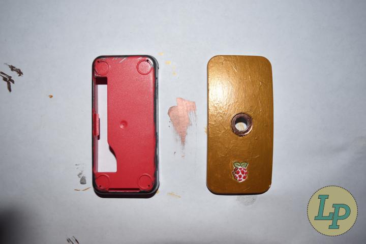 Raspberry Pi Zero Case Paints