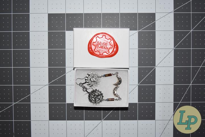 Steampunk Earring